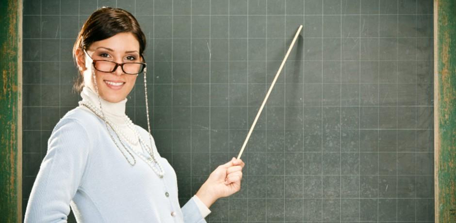 фото вчитель з указкою этого, представится